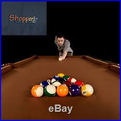 Barrington 8 ft. Pool Table Billiards Man Cave Game Room Modern American Brand