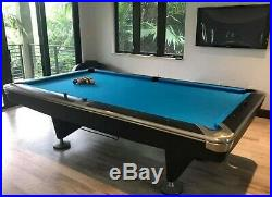 Beautiful BLACK Brunswick Gold Crown 5 8' Pro Model withfree professional install