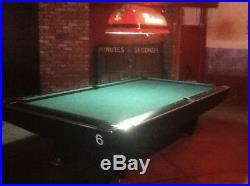 Beautiful Brunswick Gold Crown IV 8' Pro, pool table