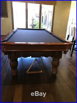 Beautiful Brunswick pool table 4k Brand new