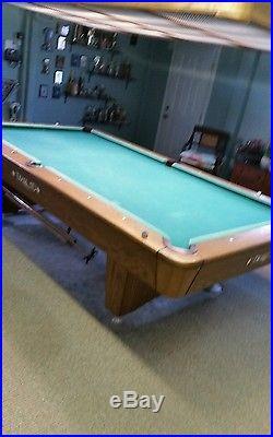 Beautiful Diamond Pool Table 9FT Including full 9ft Diamond Light Box