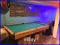 Billard Pool Table, brunswick billiards table