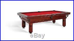 Billardtisch DIJON STYLE 8 ft Billard Pool Tisch- und Tuchfarbe frei wählbar