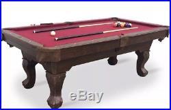 Billiard Pool Table, 7.25', Regulation Pool Table