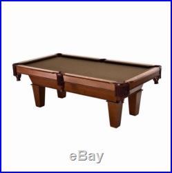 Billiard Pool Table 7 Foot Balls Cues Triangle Chalk Man Cave Bar Play Billiards