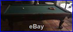 Billiard Pool Table Cues Balls Chalks Triangle Claw Leg 1 piece 1 slate