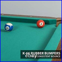 Billiard Pool Table with Felt Top, 87 Masterton Green