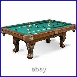 Billiard Pool Table with Felt Top Features Durable 87 Masterton Green