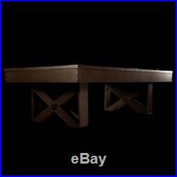 Billiard Table 8 ft Pool Table Barrington w Cue Set and Accessory Kit