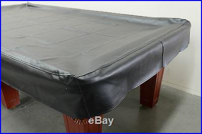 Billiard pool snooker table heavy duty 9ft black vinyl cover Gift