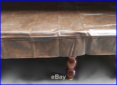 Billiard snooker pool table heavy duty 8ft black vinyl cover