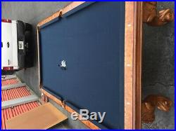 Billiard table American Heritage top of the line pool table with ping pong top