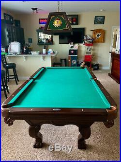 Billiards Pool Table 8 ft Tournament Size Mahagony