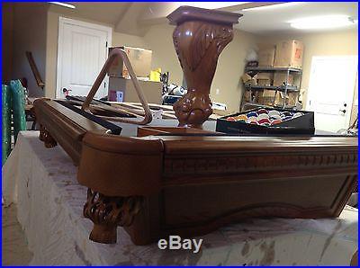 Billiards Table, American Heritage 8 Ft Slate Pool Table