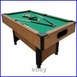 Billiards Table Full Size 78 With Accessories Free Shipping Pool Table