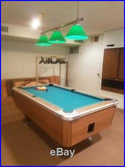 Billiards, pool table, coin operated
