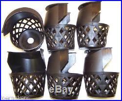 Black Web Drop Pockets Set of 6 Pool Table Pocket Liners FREE US SHIP