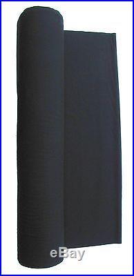 Black Worsted Fast Speed Pool Table Cloth Billiard Felt For 7' Table 108 X 61