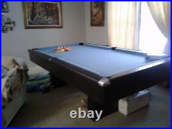 Blue Top Pool Table