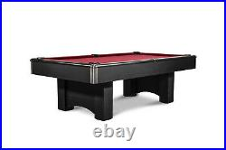 Brand New 8 FT Billiard Pool Table with 1 Framed Slate