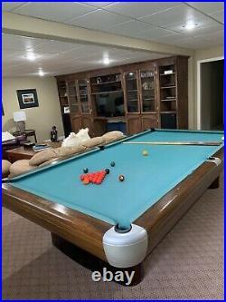 Brunswick 10 Snooker Pool Table