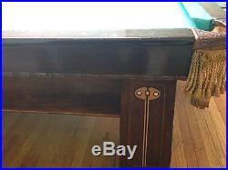 Brunswick 1911 Pool Table