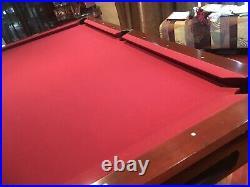 Brunswick 4x8 3 Piece 1Slate Multiple Sticks, Hardware, Ball Return, all Inclusive