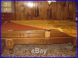 Brunswick 8' Regulation Pool Table