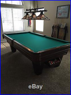 Brunswick 8ft competition Heritage pool table