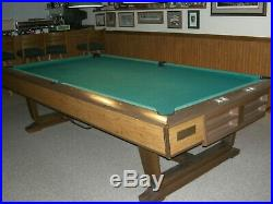 Brunswick 9FT VIP Slate Pool Table with Accessories