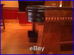 Brunswick 9' Antique Medalist Billiards Table