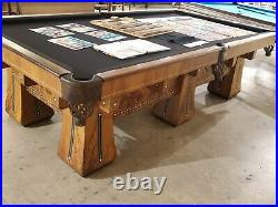Brunswick 9' Kling Pool Table