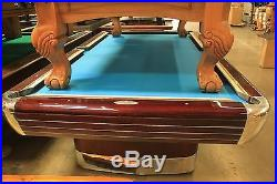 Brunswick 9' Vintage Anniversary Pool Table