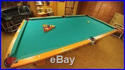Brunswick 9 ft. Wellington Classic Billiards/Pool Table-withAccess, Cues, Racks
