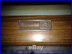 Brunswick 9ft billiard Table lot
