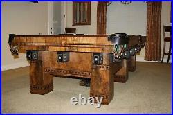 Brunswick Alexandria antique pool table 9ft