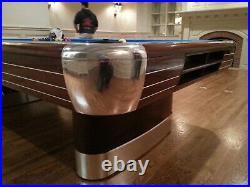 Brunswick Anniversary 4 1/2 x 9 pool table fully restored 1940's