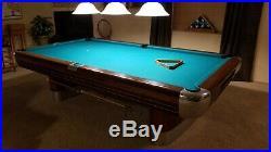 Brunswick Anniversary (9X 4.5) Pool Table (1958-63 Era)