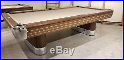 Brunswick Anniversary Pool Table - Totally Restored 9' Table