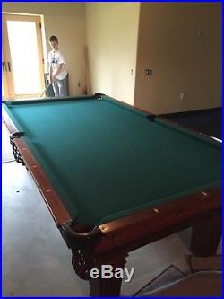 Brunswick Antique Pool Table 1910 Algeria