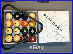Brunswick Ashcroft Pool Table slate ball return Gully Ping-pong 8 1990s Pickup