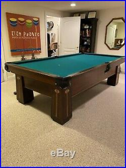Brunswick Balke And Collender Regina Pool Table Vintage