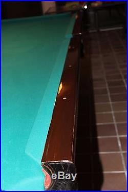 Brunswick Balke Collender Arcade Antique Pool Table