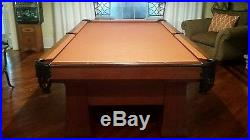 Brunswick Balke Collender Co 1920's Antique Pool Table Regent Billiards RARE