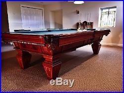 Brunswick Bensinger Pool Table and Accessories