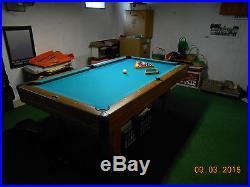 Brunswick Billards Bristol #2 Slate Pool Table 7' Model (PICK UP ONLY)