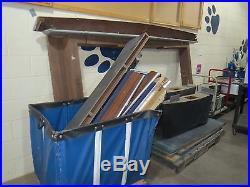 Brunswick Billards, Pool Table, Blue, Table- PSU