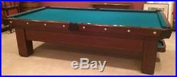 Brunswick Billiard Table The Madison Fully Restored 9ft. Circa 1916 SALE