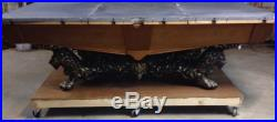 Brunswick Billiards Monarch Pool Table Reproduction with Foundry Pattern-tooling