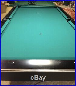 Brunswick Black Gold Crown IV 9 Pool Table